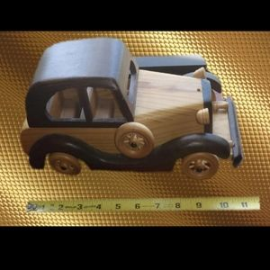 This Is A Great Handmade Car. Great Home Deco